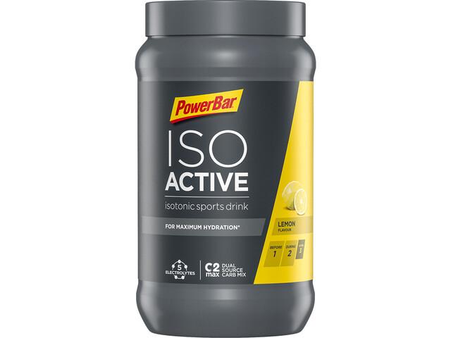PowerBar Isoactive Isotonic Sports Drink Bote 600g, Lemon